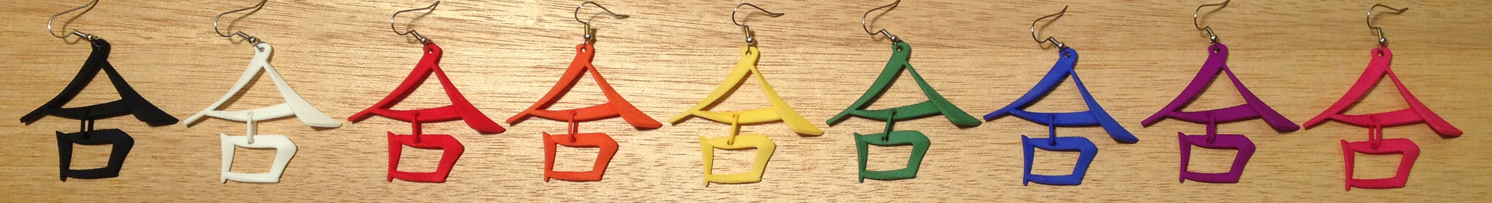 COLLABORATION/He Earrings